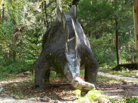 Dinosaur in Port Orange, Florida
