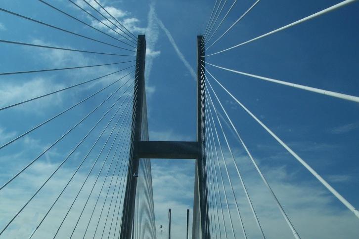 Bridge in Brunswick, Georgia
