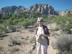 My Mother in the Desert in Nevada