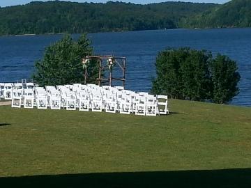 Wedding venue at J.P. Coleman State Park