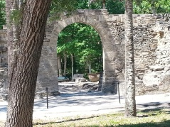Architectural arch at New Smyrna Sugar Mill Ruins